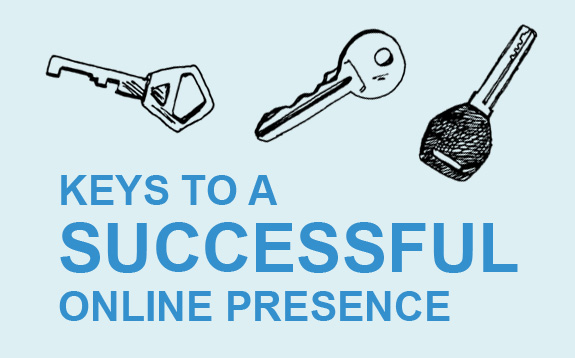 keys to a successful online presence