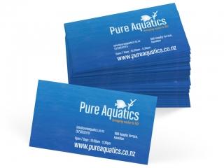 Pure Aquatics Business Cards