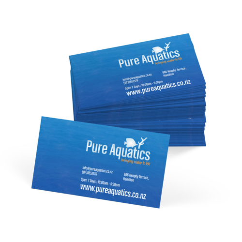Pure Aquatics Business Cards