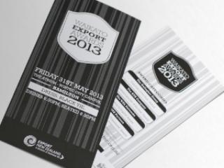 Waikato Export Awards - Export New Zealand - graphic-design services Hamilton