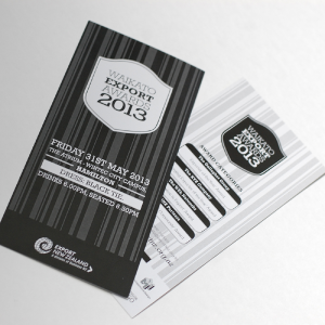 Waikato Export Awards - Export New Zealand - graphic-design services Hamilton