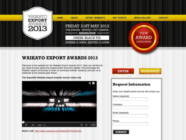 Waikato Export Awards 2013