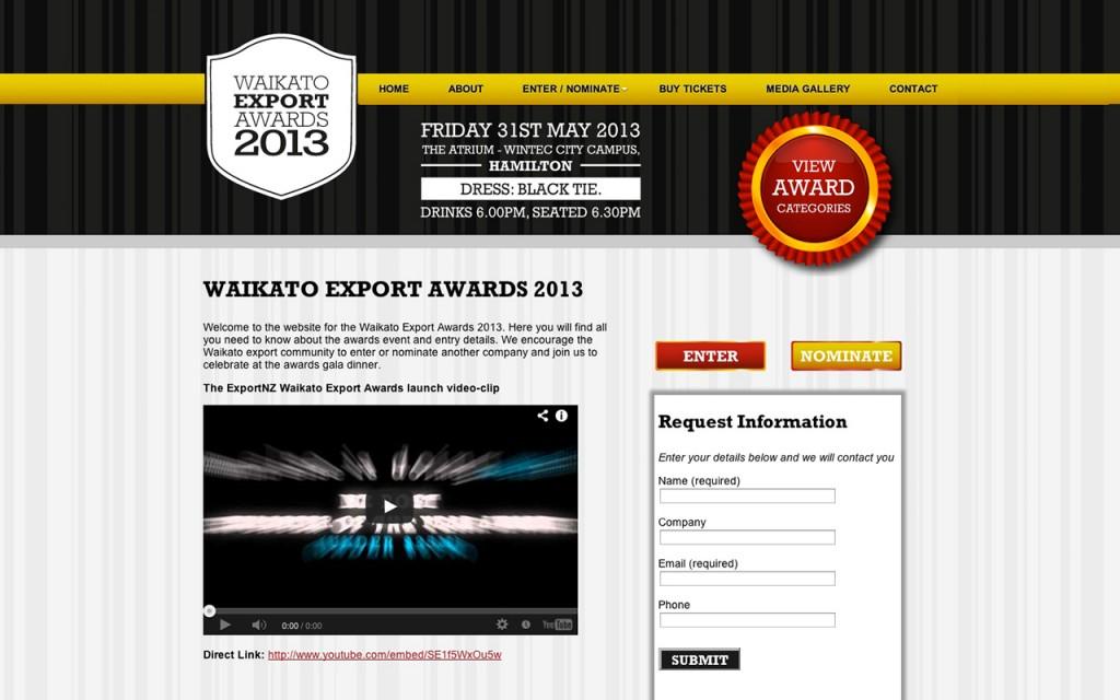 Waikato Export Awards 2013