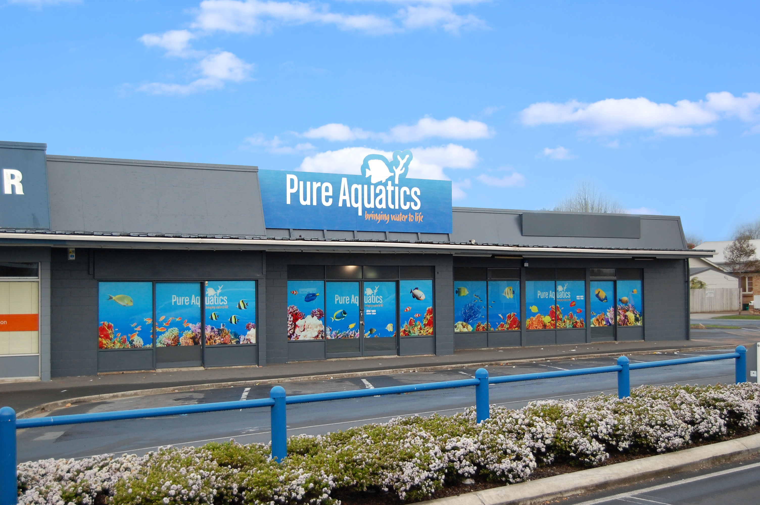 Pure Aquatics Shop Front