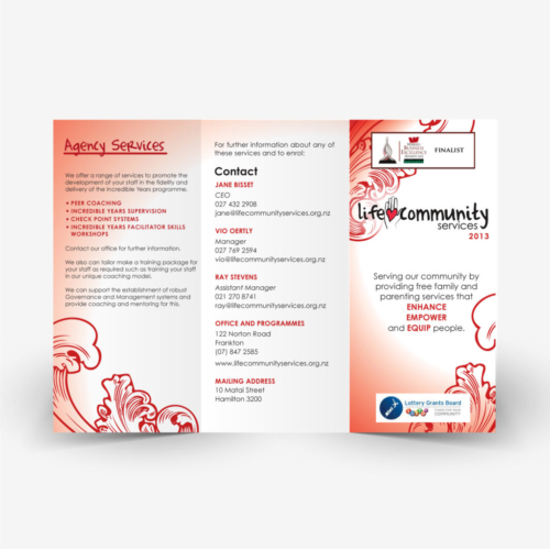 Life Community Services Flyer redesign 1