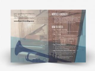Porch Music Funding Brochure Design 2