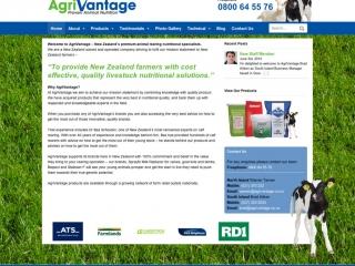 Agrivantage Website design