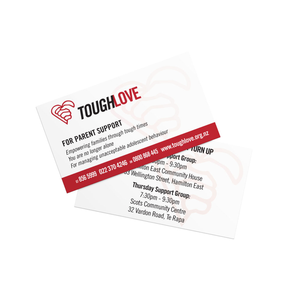 Tough Love Business Cards