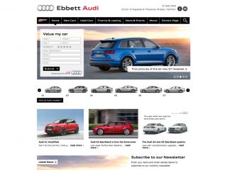 Ebbett Audi Website Development